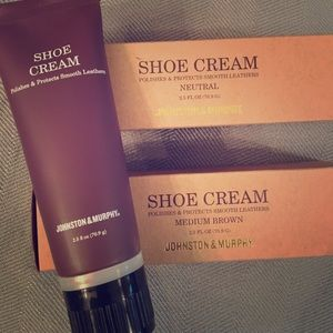 Johnston & Murphy shoe cream set